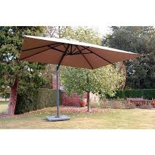 cantilever parasol 3x3m square anthracite