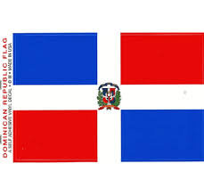 Made In Usa Dominican Republic 3 5 X 5 Flag Decal Stickers Dominican Republic 3 5 Inch X 5 Inch Self Adhesive Vinyl Waterproof Sticker Decals