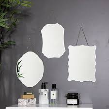 set of 3 wall mirrors flora furniture