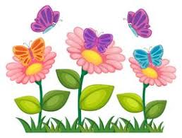 flowers and erflies free vector art
