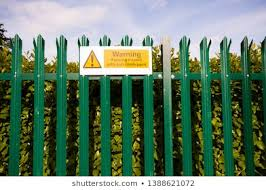 Anti Climbing Fence Images Stock Photos Vectors Shutterstock
