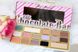 new toofaced white chocolate bar