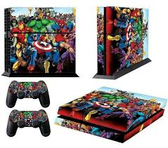 Vinyl Skin Cover Decal For Sony Playstation 4 Ps4 Console 2 Controller Sticker Ebay