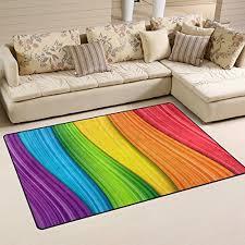 Rainbow Rugs Area Rugs Kids Rugs Pastel Rainbow Rugs Etc