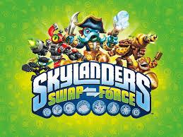 skylanders swap force green logo hd