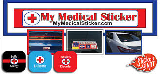 Stickers Saving Lives With My Medical Sticker Customer Stories