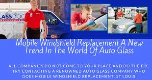 windshield replacement a new trend