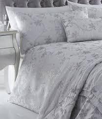 ravina silver bedding range duvet sets