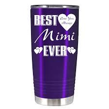 Best Mimi Ever 20 Oz Tumbler Cup Spirit Customs