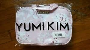 pink fl pocket makeup bag nip