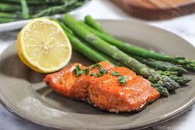 maple glazed sockeye salmon the
