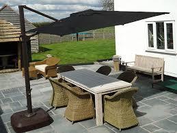 square tilting cantilever parasol 3m