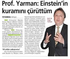Einstein Genel Görecelik Kuramının Çürütülmesi