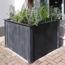 garden requisites steel planters