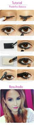 how to put on cute eye makeup