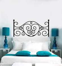 Vinyl Wall Decal Headboard Above Bed Bedroom Decoration Decor Stickers Wallstickers4you
