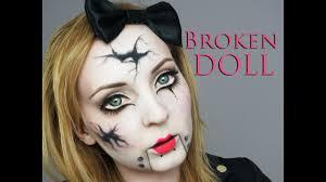 broken doll make up transformation