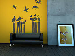 Pelican Wall Decal Beach Wall Decor Bird Wall Decal Coastal Decor Ebay