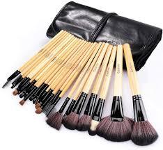 24 pcs natural hair professional makeup