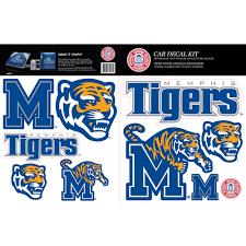Skinit Memphis Tigers Car Decal Kit Walmart Com Walmart Com