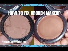 easy way to fix repair broken makeup
