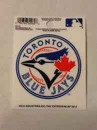 Toronto Blue Jays Static Cling Sticker Decal New Window Or Car Hub City Sports