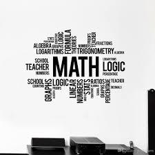 Math Words Cloud Wall Decalschool Decor Science Wall Stickers Modern Home Decoration Living Room Classroom Decor Art Murals Peelable Wall Stickers Personalised Wall Stickers From Joystickers 12 66 Dhgate Com