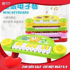 Đồ chơi đàn Piano mini cho bé có đèn và âm thanh kích thích não ...