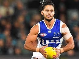 North Melbourne Tasmanian Kangaroo Aaron Hall calls out racism ...