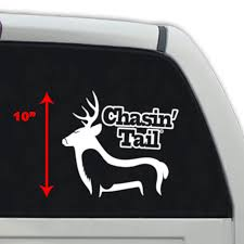 Chasin Tail Whitetail Vinyl Decal