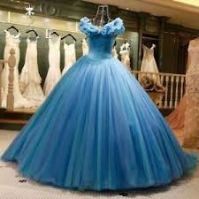 cinderella fancy quinceanera dresses