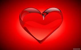 hot shaped of love wallpaper digital art