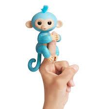 fingerlings glitter monkey amelia