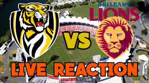 Richmond Tigers VS Brisbane Lions LIVE ...