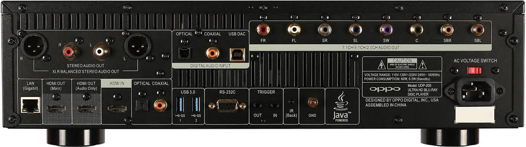 Oppo UDP-205 Ultra-HD Аудиофильский Blu-ray плеер