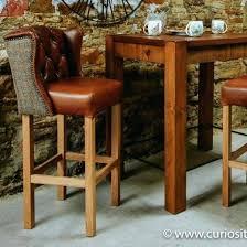 butler leather bar stool leather bar