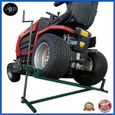tractor jack lifter ride on lawn mower