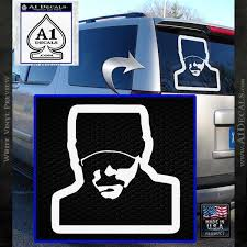 Eric Church Profile Decal Sticker D2 A1 Decals