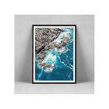 wall art framed anterior ocean view
