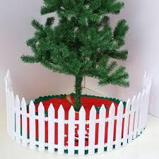 L 1pc White Plastic Picket Fence Miniature Home Garden Christmas Xmas Tree Shopee Philippines
