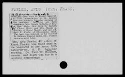 Avis M. Bluemm Fowler (1878-1940) - Find A Grave Memorial
