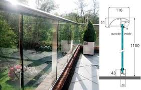 various options of glass barades