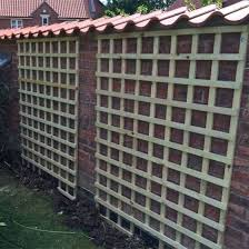 Heavy Duty Garden Trellis Panel Square Lattice