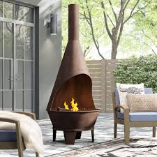 chiminea fire pits for your backyard