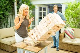how to diy giant jenga game home