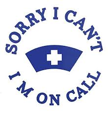 Sorry I Cant Im On Call Custom Nurse Decal Nursing Bumper Sticker For Tumblers Laptops Car Windows Stethoscope Nurse Ekg Rn Cna Lpn Gift Wickedgoodz