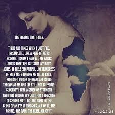 "نور مسلمة by therunnelofdreams "" feelings incomplete pain"