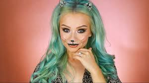 last minute halloween kitty cat makeup