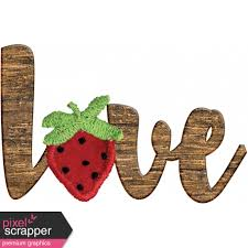 wooden word art graphic by janet scott