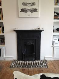 cast iron fireplace with victorian
